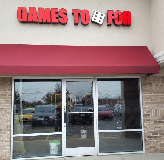 Gaming Store.