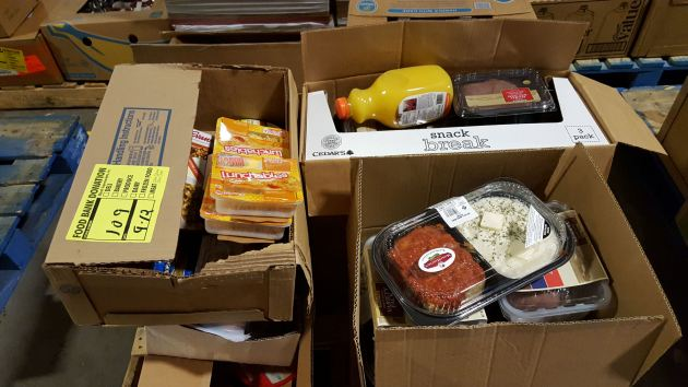 Gleaners donations!