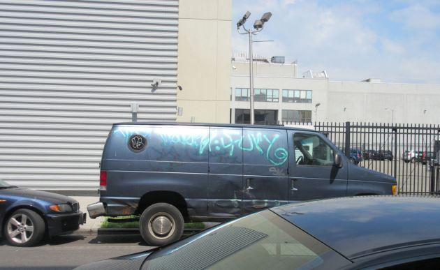graffiti van!