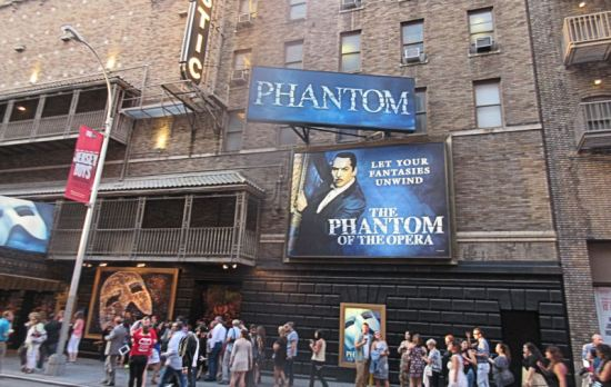 The Phantom of the Opera!