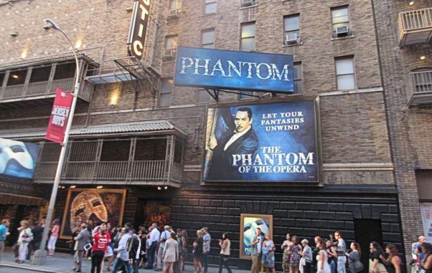 The Phantom of the Opera!