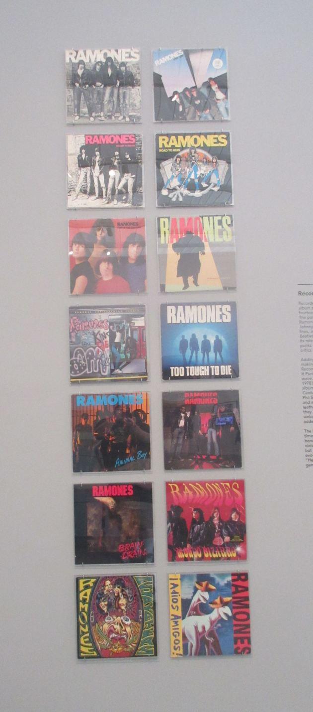 Ramones albums!