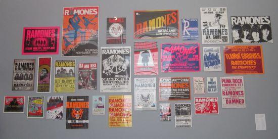 Ramones flyers!