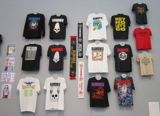 Ramones T-shirts!