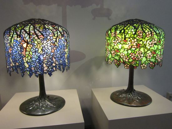 Tiffany glass lamps!