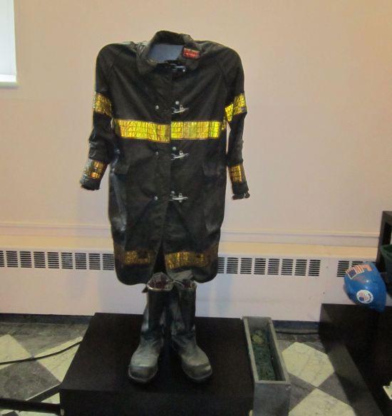 firefighter uniform.