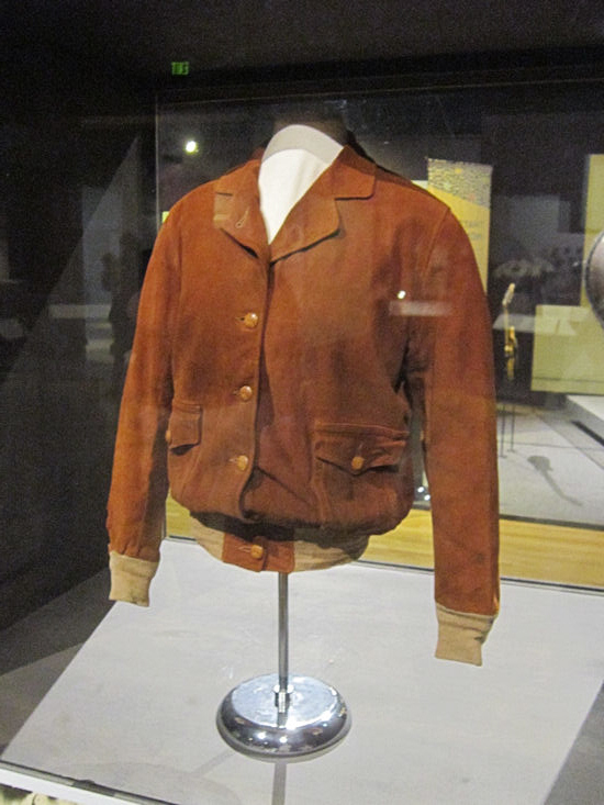 Amelia Earhart's flight jacket!