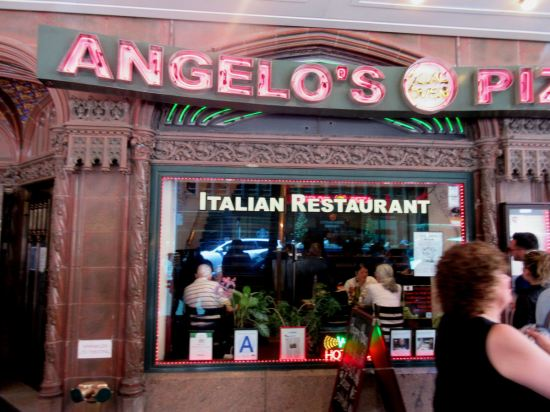 Angelo's Pizza!