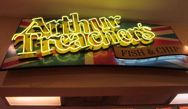 Arthur Treacher's!