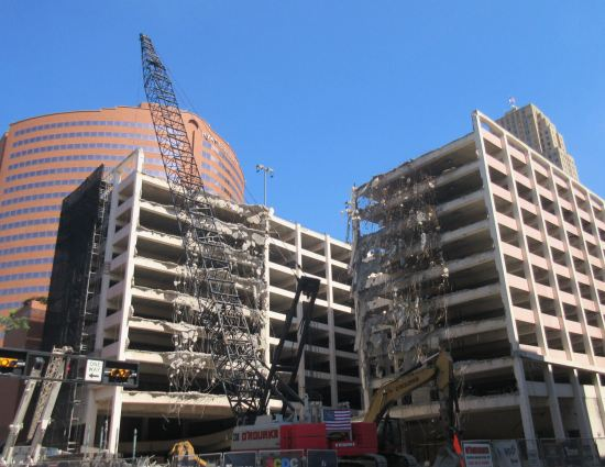 Cincinnati demolition!