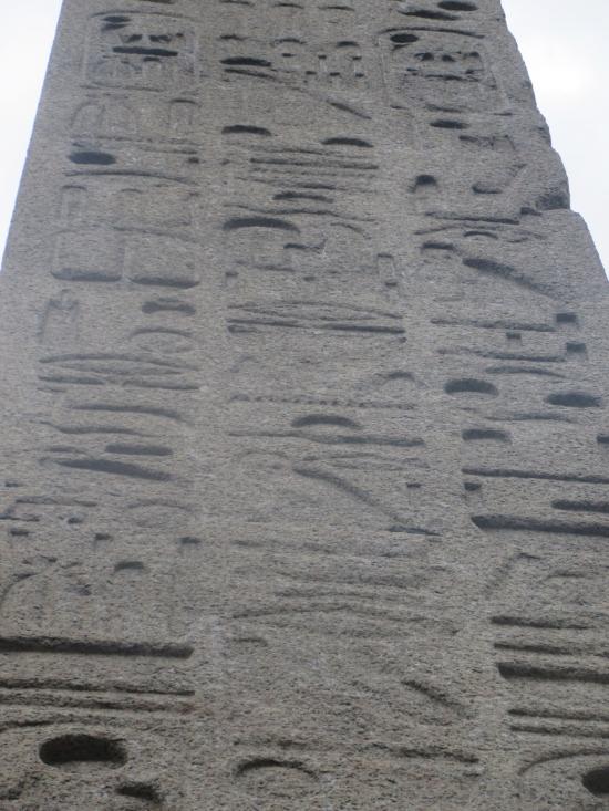 Cleopatra's hieroglyphics!
