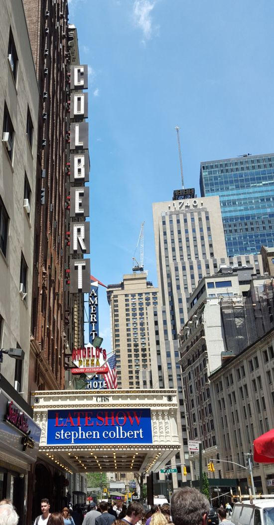 Colbert marquee!