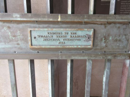 Harrison plaque!
