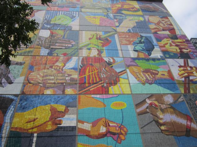 Duke mural!