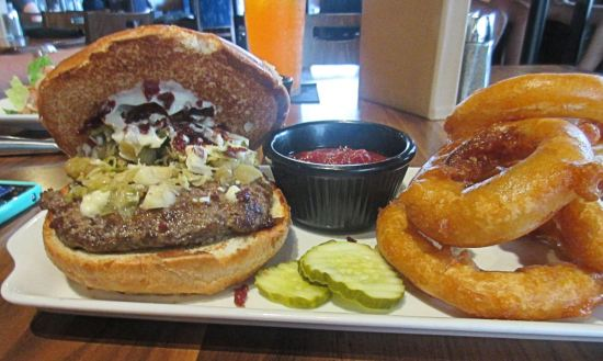Farmstead burger!