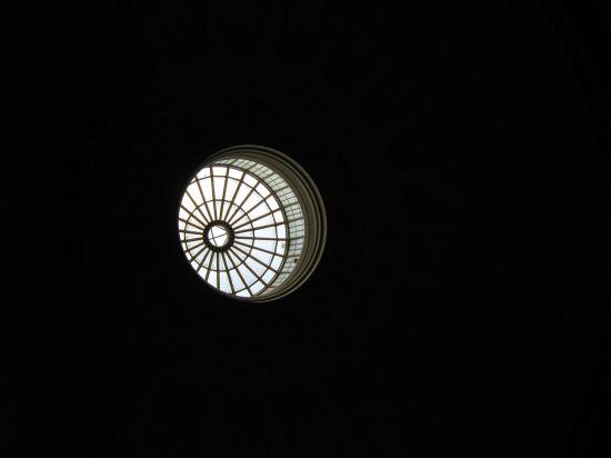 Federal Hall skylight!