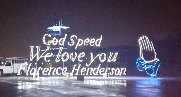 Florence Henderson!