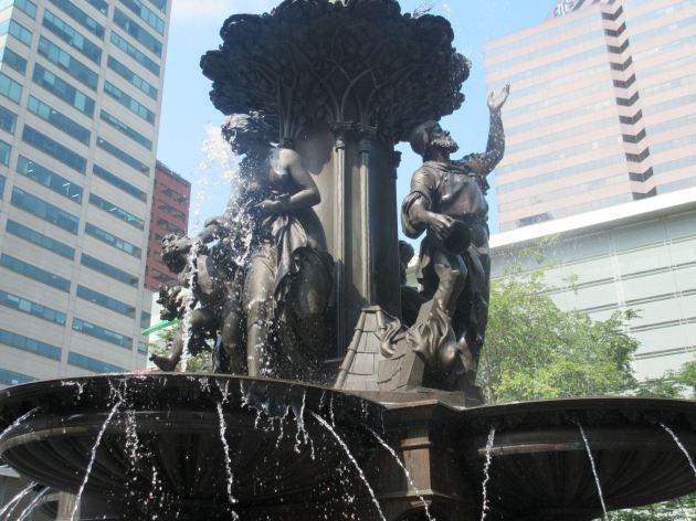 Fountain heroes!