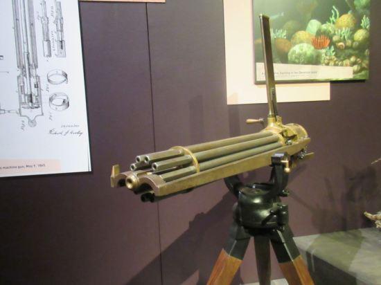 Gatling gun!