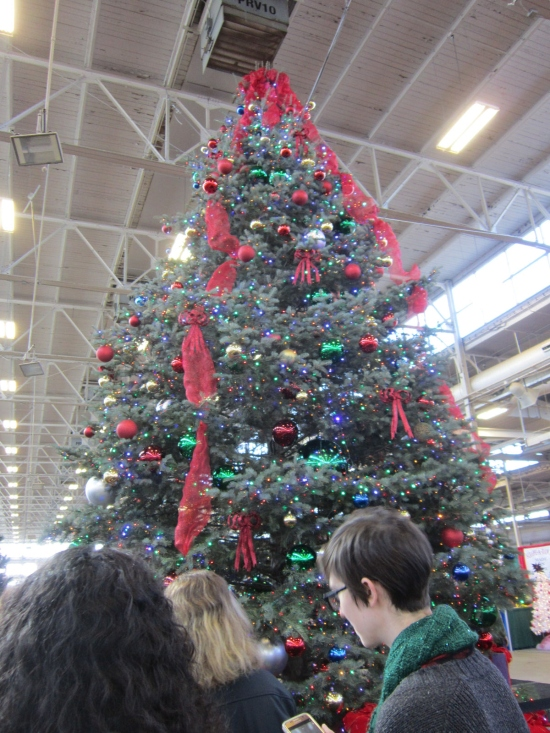giant Christmas tree!
