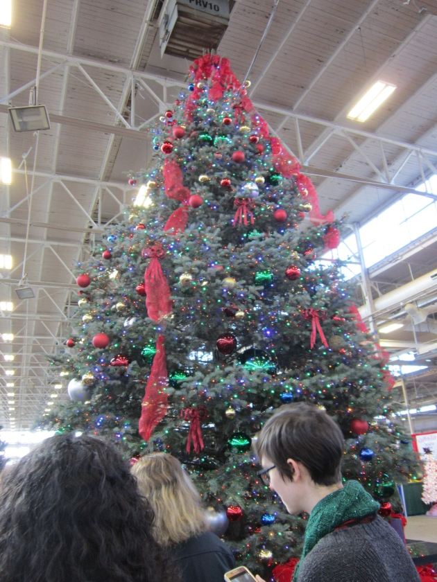 giant Christmas tree!
