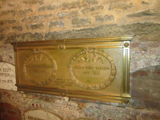 Harrison's tomb!