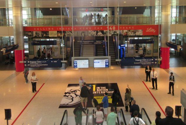 Indianapolis International Airport!