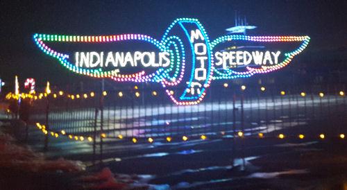 Indianapolis Motor Speedway!
