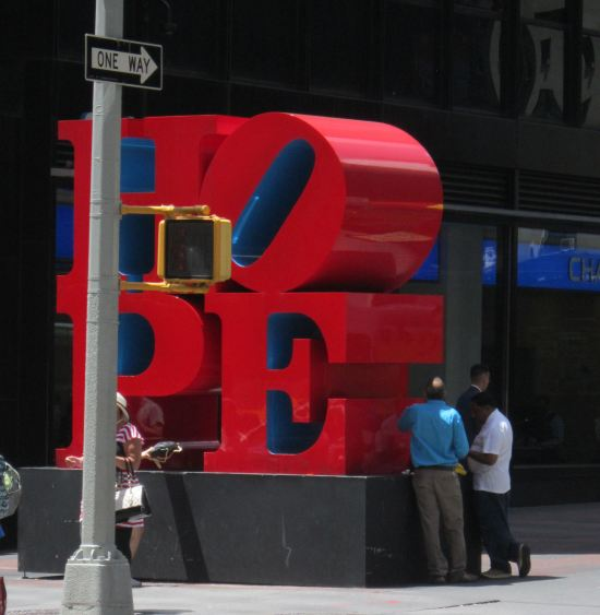 Robert Indiana's Hope!