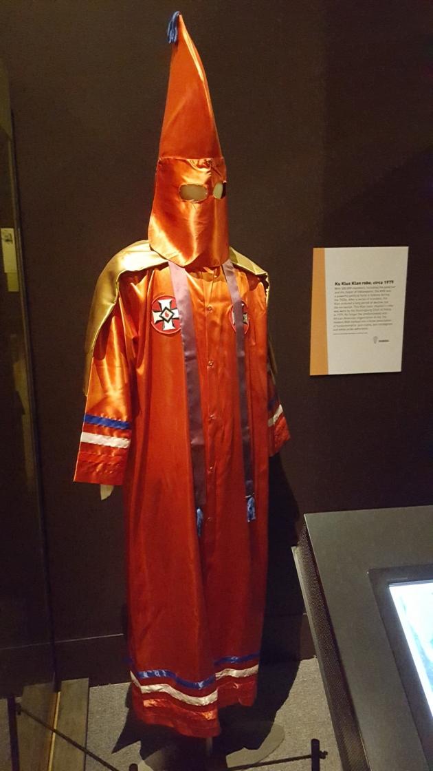 KKK robe.