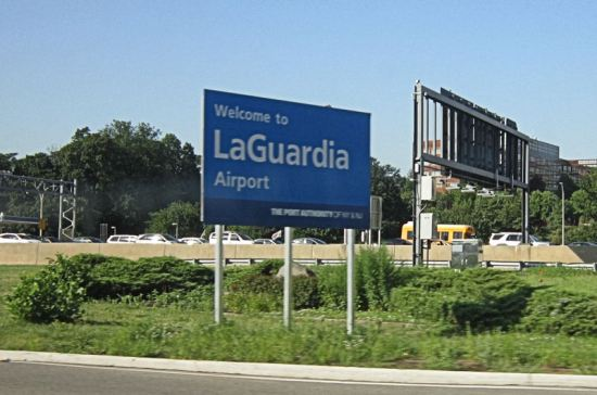 LaGuardia sign!