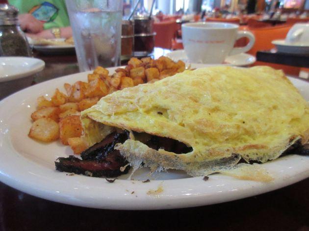 Pastrami omelet!