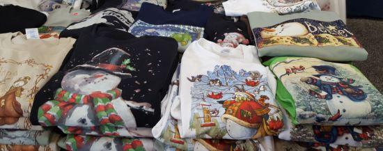 Snowman sweaters!