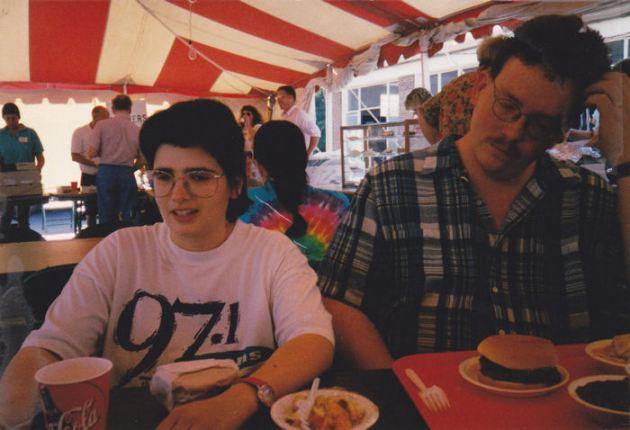 Anne + Randy 1999!