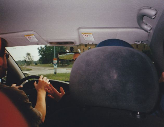 back seat!