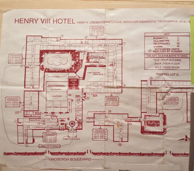 Henry VIII map!