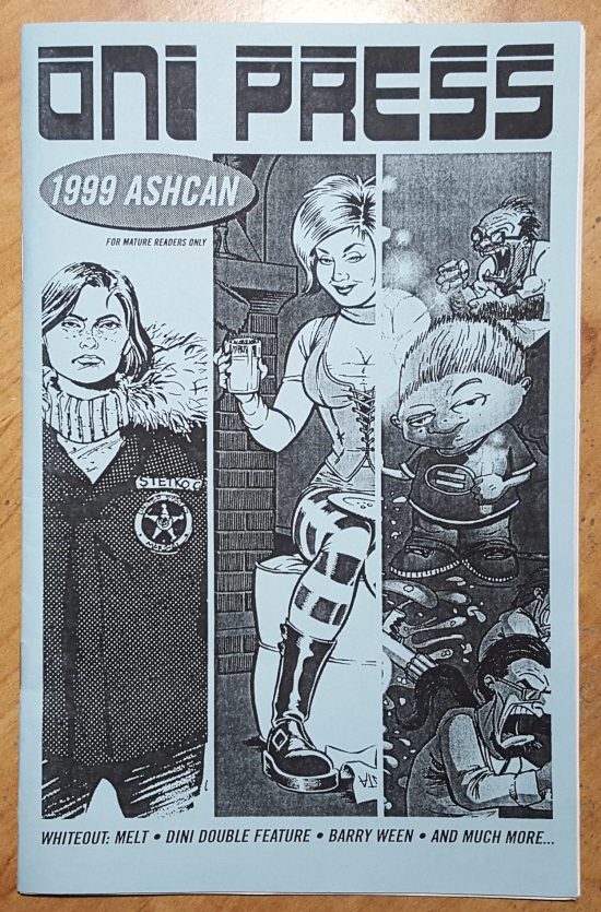 Oni Press 1999 ashcan!