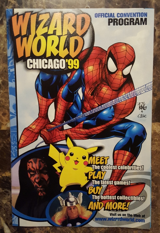 Wizard World Chicago 1999 program!
