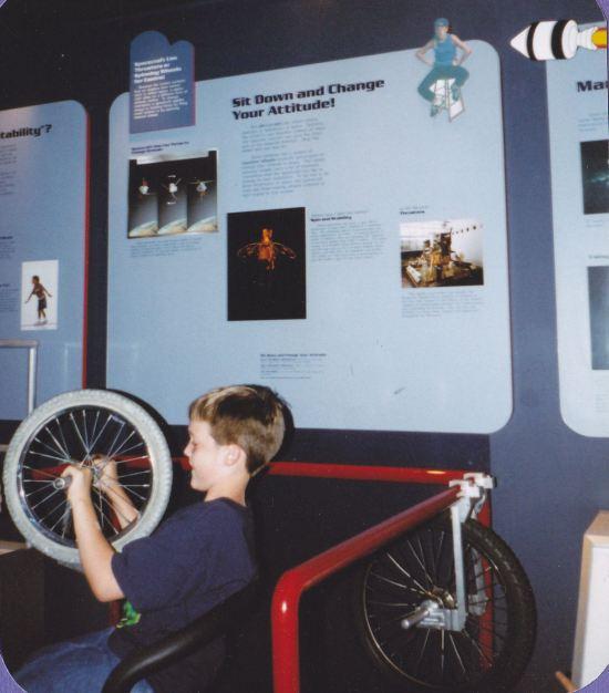 bicycle wheel!