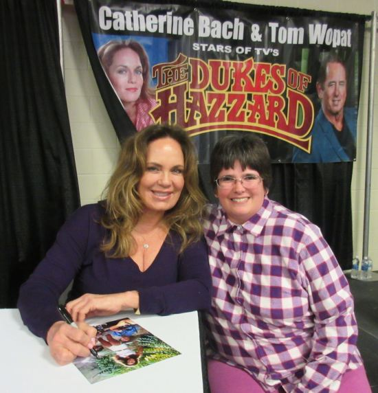 Catherine Bach!