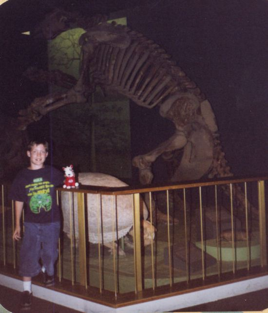 crouching fossil!