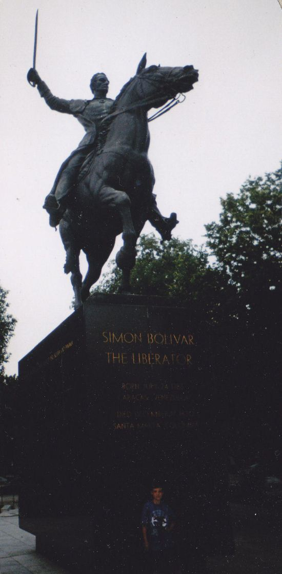 Equestrian of Simon Bolivar!