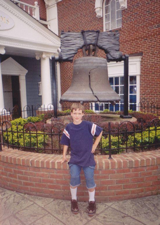 fake Liberty Bell!
