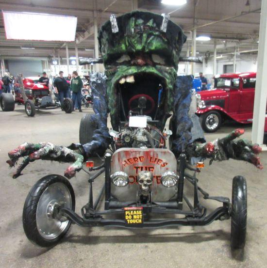 Frankenstein's monster's car!