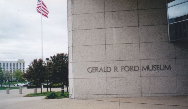 Gerald R. Ford Museum!
