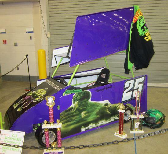Hulk midget car!