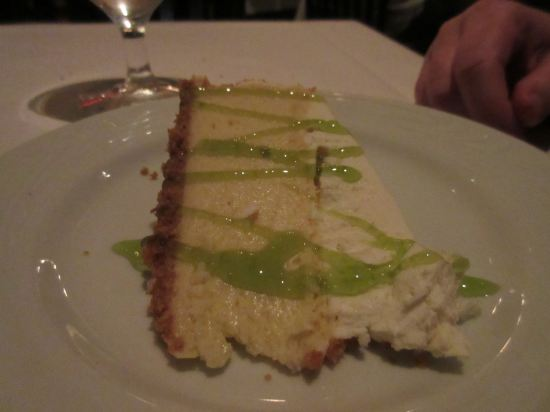 key lime pie!