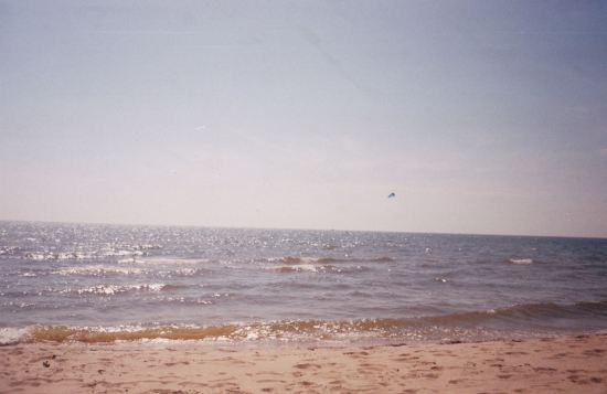 Lake Michigan!