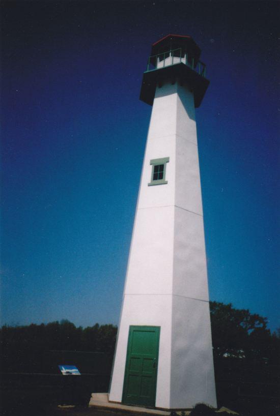 Parking Lot Lighthouse!