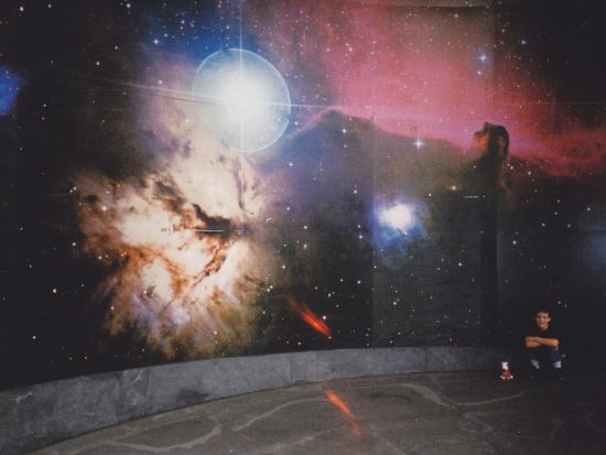 space mural!